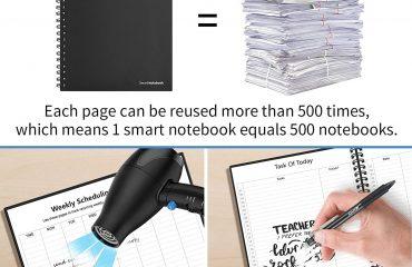 Uitwisbare notitieboeken met logo